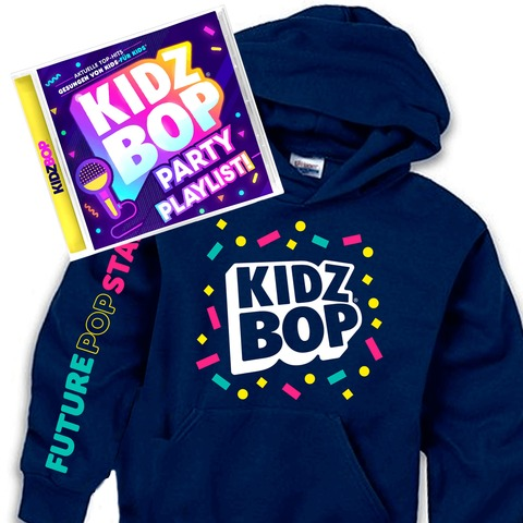 KIDZ BOP Party Playlist (Geniales Bundle: CD + Hoodie) von KIDZ BOP Kids - CD Bundle jetzt im Kidz Bop Shop